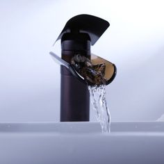 Cascada de grifo de vida G aceite frotado bronce latón mezclador baño lavabo grifo ERW3475: Amazon.es: Hogar