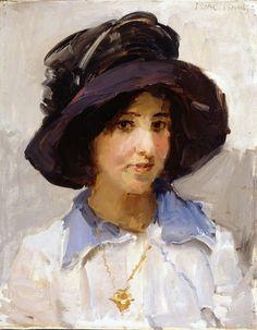Isaac Israëls (1865-1934) - Portrait of a Girl (1916)