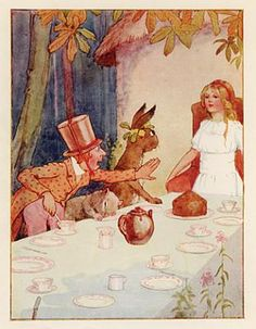 margaret tarrant prints | Alice in Wonderland