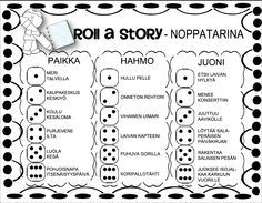 Noppatarina. Drama Education, Special Education, Roll A Story, Picture Writing Prompts, Never Stop Learning, Teaching Materials, Elementary Math, Printable Worksheets, Educational Activities