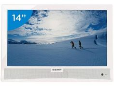 "TV LED 14"" Semp Toshiba LE1473(B)W - Conversor Digital 1  HDMI 1 USBde R$ 699,00 por R$ 489,00"