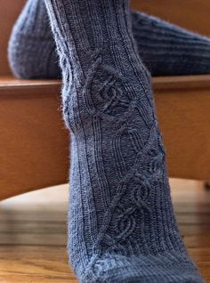 Circinus socks : Knitty Deep Fall 2013 For Toots or Nancy...FYI my favorite color is blue!