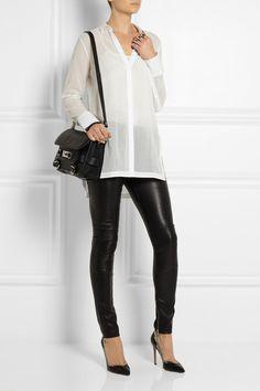 Helmut Lang- Cotton-muslin shirt