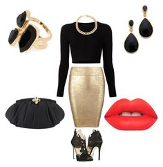 """Saturday night"" by elizabeth-jatmiko on Polyvore"