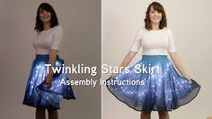 http://www.thinkgeek.com/jhsu?cpg=yt - A ThinkGeek creation & exclusive - Midi-length skirt based on an actual star chart - 3 layer skirt: see-thru constella...