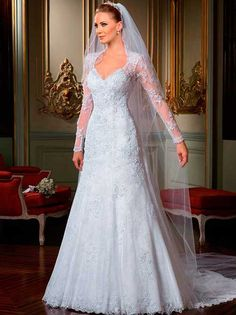 Shop our best value Long Sleeve Wedding Gowns Empire on AliExpress. Check out more Long Sleeve Wedding Gowns Empire items in Weddings & Events, Women's Clothing! And don't miss out on limited deals on Long Sleeve Wedding Gowns Empire! Wedding Dress Chiffon, 2015 Wedding Dresses, Backless Wedding, Wedding Dress Sleeves, Long Sleeve Wedding, Bridal Dresses, Wedding Gowns, Lace Dresses, Sleeve Dresses