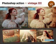 Photoshop vintage action III