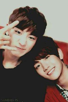 Chanyeol 찬열 and Baekhyun 백현 from EXO-K