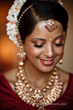Hindu Jewish Wedding Atlanta | Nadia D Photo 32 width= Diy Wedding Makeup, Bridal