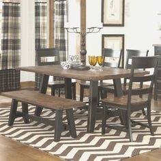 Decorating: Terrific Baytown Double Pedestal Dining Table, spice ...