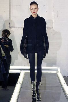 Alexander Wang Fall 2007 Ready-to-Wear Fashion Show Collection