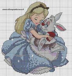 Charms en point de croisement: Alice in Wonderland