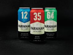 Reviewed: New Logo and Packaging for Farnham Ale &Lager by lg2boutique