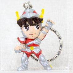 Saint Seiya Bronze Saint Pegasus Seiya Figure Key Chain JAPAN ANIME MANGA