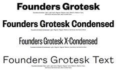 / KLIM – Founders Grotesk