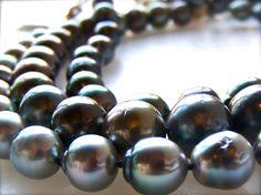 #Black Tahitian Pearls