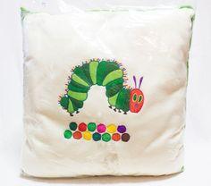 The Very Hungry Caterpillar 16 inch Fleece Cushion ERIC CARLE