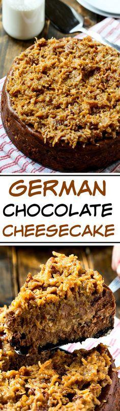 German Chocolate Che German Chocolate Cheesecake Recipe : http://ift.tt/1hGiZgA And @ItsNutella  http://ift.tt/2v8iUYW