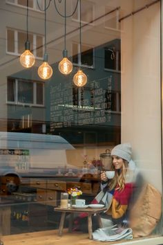 Cozy Cafe In Munich, Germany. Excellent for working at.