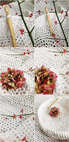 handarbeit on pinterest crochet stars garten and crochet leaves. Black Bedroom Furniture Sets. Home Design Ideas