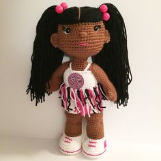 Handmade 18 African American/Black/Ethnic by OffDHookCreations