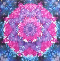 tie dye tapestry wall hanging star pink purple by LimSpace on Etsy  #tiedye #tapestry #wallhanging #trippy #psychedelic #mandala #boho #hippie #handmade