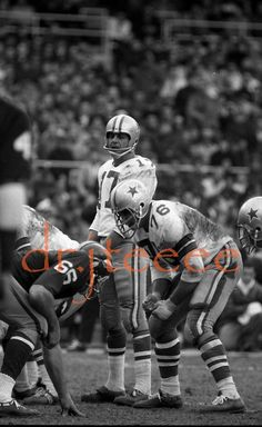 1966 DON MEREDITH DALLAS COWBOYS - 35mm Football Negative ceec58039