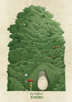 My Neighbor Totoro - Created by Jacob Stack