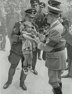 Hitler loved kids.