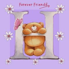 Bello Alfabeto de For Ever Friends. For Ever Friends Alphabet.