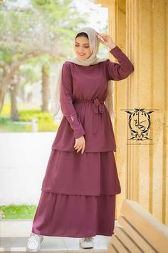 Follow me on pinterest: @aalaaaatya ♡ Modern Hijab Fashion, Muslim Women Fashion, Hijab Fashion Inspiration, Islamic Fashion, Abaya Fashion, Modest Fashion, Fashion Dresses, Hijab Dress Party, Hijab Style Dress