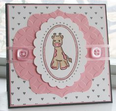 DeNami Heart Giraffe card by @Wendy Elliot
