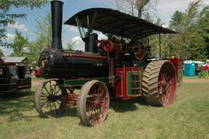 Vary nice Steam tractor
