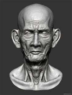 Cambodian Old Man Detailed Head in ZBrush, Cambodian Old Man Head - ZBrush Detailed Head | Andor Kollar - Character Artist, ZBrush Cambodian Old Man Detailed Head TUTORIAL, ZBrush 4r7 ZBrush Cambodian Old Man Detailed Head, zbrush, zbrush 4r7, tutorial, pixologic, Zbrush Tutorials, Zbrush 4R7 Tutorials, Cambodian Old Man Detailed Head, Detailed Head in ZBrush, Andor Kollar, Cambodian Old Man Detailed Head in ZBrush by Andor Kollar