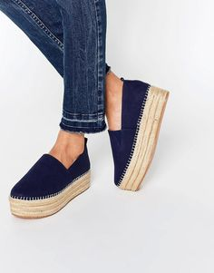 Warehouse | Warehouse Espadrille Flatform at ASOS