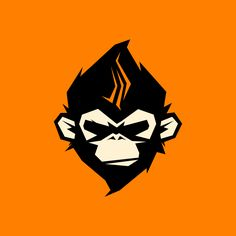 Monkey Logo > Jacob Malabanan on Behance - Logos Logo Inspiration, Arte Bob Marley, Arte Black, Monkey Tattoos, Monkey Art, Professional Logo Design, How To Make Logo, Animal Logo, Grafik Design
