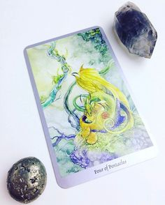 Daily #Tarot Reading for March 4: Four of Pentacles Are you holding onto your #resources with an iron grip fearful of #loss? Do you sigh and wring your hands every time you send out a #payment? When we #hoard our #money out of fear when we stick rigidly to rules that hinder our progress when we feel #possessed by our possessions we feel the energy of the Four of Pentacles. The Four of Pentacles indicates a narrow-minded or scarcity-driven view of money and resources as well as selfishness or…