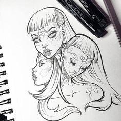 Super random. Doodles keep me sane. ✍ #graphicartery #art #artist #artwork…: