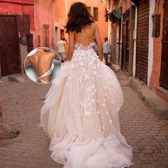 21141d320de Deep U Plunge Low Back Underwire Push up Demi Bra for Wedding Party  lowback