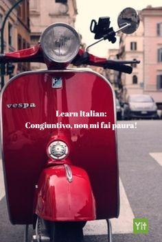 "Are you learning Italian and the ""congiuntivo"" is a bitter pill to swallow? Follow my ""Congiuntivo, non mi fai paura!"" series and  it will go down easy! http://bit.ly/presentazione_congiuntivo"