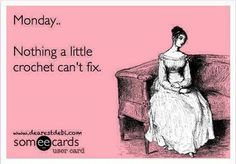 Crochet Monday's --- why didn't I think of that!