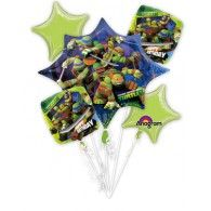 This sale is for a Ninja Turtles Balloon Bouquet 5 Balloons in box. You will receive Ninja Turtles. 1 Supershape Foil Balloon x 2 Foil Balloons in. Turtle Birthday Parties, Ninja Turtle Birthday, Birthday Ideas, 5th Birthday, Happy Birthday, Birthday Stuff, Surprise Birthday, Ninja Turtles Cartoon, Teenage Mutant Ninja Turtles