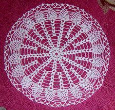 Doily I crocheted