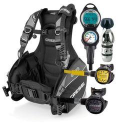 Cressi R1 BCD Scuba Gear Package - http://scuba.megainfohouse.com/cressi-r1-bcd-scuba-gear-package.html/