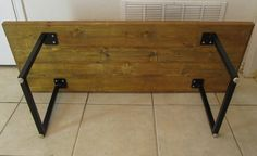 made to order square tube legs. coffee table, end table, dining table, etc. $1.00, via Etsy.