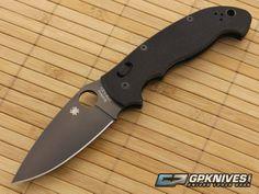 Spyderco Manix 2 XL Black Blade