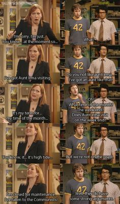 love The IT Crowd lol - this was the funniest episode
