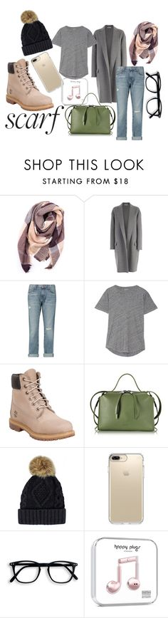 """""""Grey"""" by explorer-172 ❤ liked on Polyvore featuring Everest, CÉLINE, Current/Elliott, Madewell, Timberland, Jil Sander and Speck"""