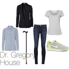 """""""House MD"""" by michelle-geiser on Polyvore"""