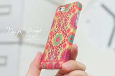 Apple iphone case for iphone iphone 5 iphone 5s iphone 5c iphone 4 iphone 4s iPhone 3Gs :Abstract floral pattern on wood(not real wood)